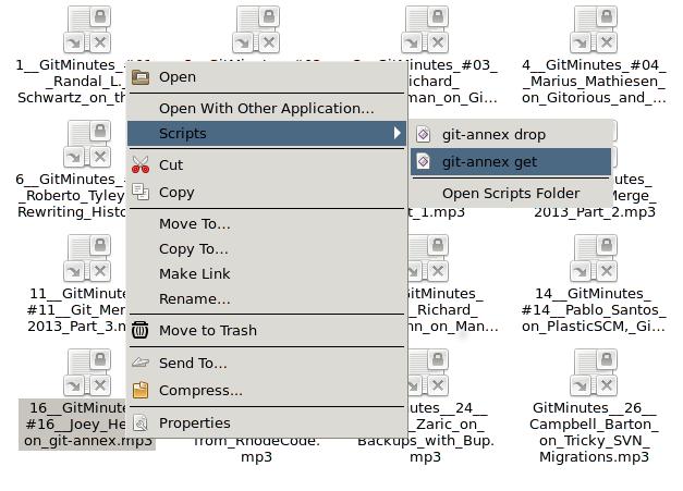 file manager integration